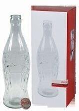 COCA COLA COKE HUGE DISPLAY GLASS BOTTLE BANK   NEW!!