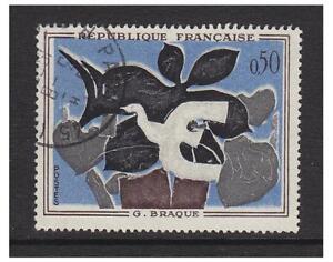 France - 1961, 50c Art stamp - F/U - SG 1551