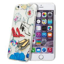 Étuis, housses et coques avec clip transparent en silicone, caoutchouc, gel pour téléphone mobile et assistant personnel (PDA)