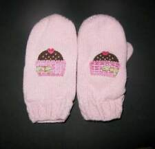Vintage Gymboree sweeter than chocolate cupcake cutie sweet treat mittens 2t-5t