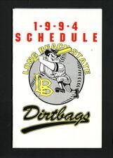 Long Beach State 49ers--1994 Baseball Pocket Schedule--Coors Light