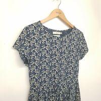 Beautiful Seasalt Organic Cotton Riviera Dress Size UK 12  Good Condition Berry