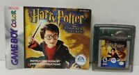 Harry Potter and the Chamber  Manual Nintendo Game Boy Color TESTED GBA  Advance