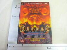 Diablo Dungeon Master Game Guide Book Japan Japanese Sony Play Station Jn4769*
