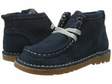 NIB LIVIE & LUCA Shoes Booties Boots Bailey Navy Suede Leather 6 7