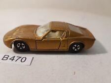 Matchbox Nr. 33 Lamborghini Miura gold bespielt ohne Verpackung (B470)