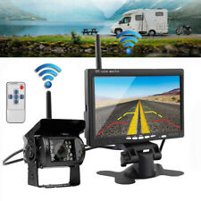 Wireless IR Rear View Back up Camera Night Vision System+7