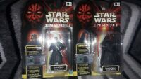 2x Star Wars Episode 1 - Darth Maul Action Figures
