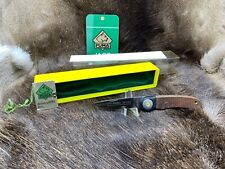 1982 Vintage Puma 777 Sport Knife With Jacaranda Handles Mint In Clear Top Box