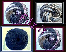 Filzwolle Pablo Felt it Virgin Wool Wick yarn thick Wool 50g Colour choice