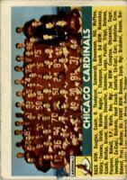 1956 Topps #22 Chicago Cardinals SP - GOOD