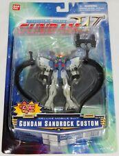 "Bandai Mobile Suit Gundam Wing SANDROCK CUSTOM 4.5"" Deluxe Figure #11607 *MOC*"