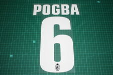Juventus 12/13 #6 POGBA Awaykit Nameset Printing