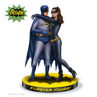 """FOREVER YOURS BATMAN AND CATWOMAN 9"""" SCULPTURE STATUE FIGURE NEW BRADFORD"""