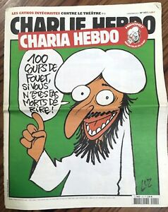 CHARLIE HEBDO Original french magazine - Charia Hebdo No 1011 VERY RARE #D2