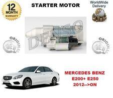 FOR MERCEDES E CLASS E200 E250 PETROL 2012 >ON NEW STARTER MOTOR 1.7 kW