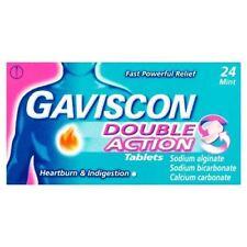 Gaviscon Double Action Mint  24 Tablets