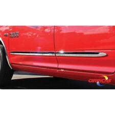 """BSDO611 02-08 Dodge Ram 1500/2500 Mega Cab Chrome Side Door Body Molding Trim 2"""""""