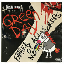 Green Day 'Father of All...' Limited Edition 'Cloudy' Red LP Vinyl - New