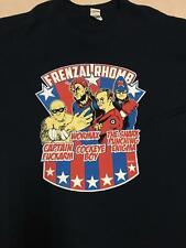 Frenzal Rhomb - Superhero T-shirt (Navy)Size - 2XL