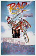 RAD Movie 1987 BMX 80's Motorcross Art Silk Poster Decor 24x36inch