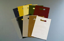 More details for coloured punched hole carrier bags (8