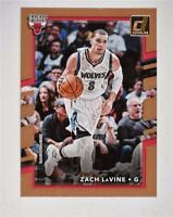 2017-18 Donruss Base #22 Zach LaVine