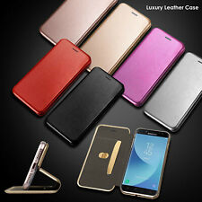 Case For Samsung Galaxy S9 S8 Plus S7 J3 J5 A3 A5 Leather Wallet Flip Slim Cover
