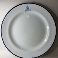 Antique Bolton Artillery volunteers mess 9 inch  dinner plate By H G Stephenson