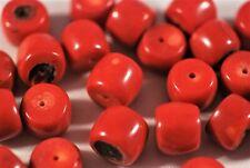 4 rote Bambuskorallen
