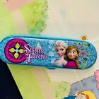 Disney Frozen School Tin Pencil Case Queen ELSA ANNA Sisters Forever Christmas