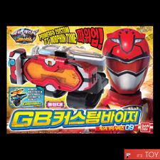 Bandai Power Rangers Go Busters Buster Gear 09 Gb Custom Visor Viser Morpher set