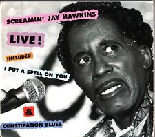 SCREAMIN' JAY HAWKINS Live! CD (Paris 1988) Chicken Hawks- Bonus Tracks (FA 435)