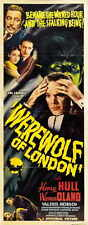 WEREWOLF OF LONDON Movie POSTER 14x36 Insert C Henry Hull Warner Oland Valerie