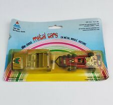 Vintage Diecast Tintoys Mercedes Jeep & ELF Tyrell 6-Wheel racecar Gold & Red