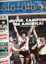RIVER PLATE America CHAMPION 1986 - Rare Magazine  vs AMERICA  DE CALI