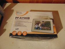 MUSTEK PF-A700B DIGITAL PHOTO FRAME 7 INCH WIDE SCREEN