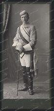 CDV-Portrait-Degen-München-1900-Studentika-Burschenschaft Student-Corps-Mensur