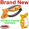 NEW SMITHS JIFFY-PRO KNIFE/SCISSORS SHARPENER AND 10-SECOND KNIVES SHARPENING