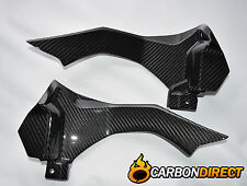 YAMAHA R1 R1M 100% CARBON FIBRE RAM AIR INTAKE PANELS IN GLOSS TWILL 2015 - 2017