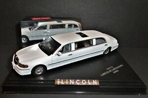 Lincoln Town Car Stretch Limousine Vitesse Sun Star 10112 1/43 Diecast US Seller