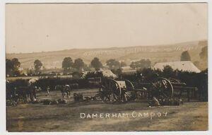 Hampshire postcard - Damerham Camp - (A385)