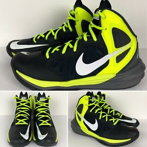 2014 Nike Prime Hype DF Basketball Shoes 683705-001 Men's Size US 9.5