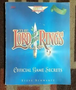The Lord Of The Rings Prima Official Game Secrets Strategy Game Guide