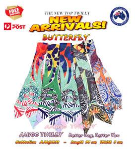 NEW Butterfly AMIGO Multi-Use Mini Scarf Twilly Headband Bag Handle Wrap 1832