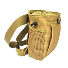Portable Chalk Bag with Belt for Rock Climbing Weightlifting Bouldering Tan