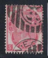 Großbritannien 1867 Mi. 28 Gestempelt 40% 3 Pence, Königin, Victoria