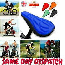 Bicycle Bike Silicone Gel 3D Saddle Seat Cover Pad Padded Soft Comfort Cushion