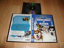 AVENTURAS EN ALASKA PELICULA EN DVD DE WALT DISNEY USADA EN BUEN ESTADO