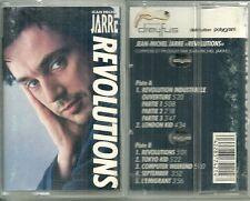 K7 AUDIO - JEAN MICHEL JARRE : REVOLUTIONS / TAPE